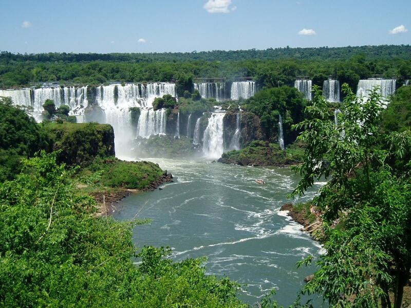Iguazu Falls clipart #1, Download drawings
