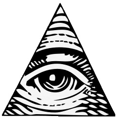Illuminati clipart #6, Download drawings