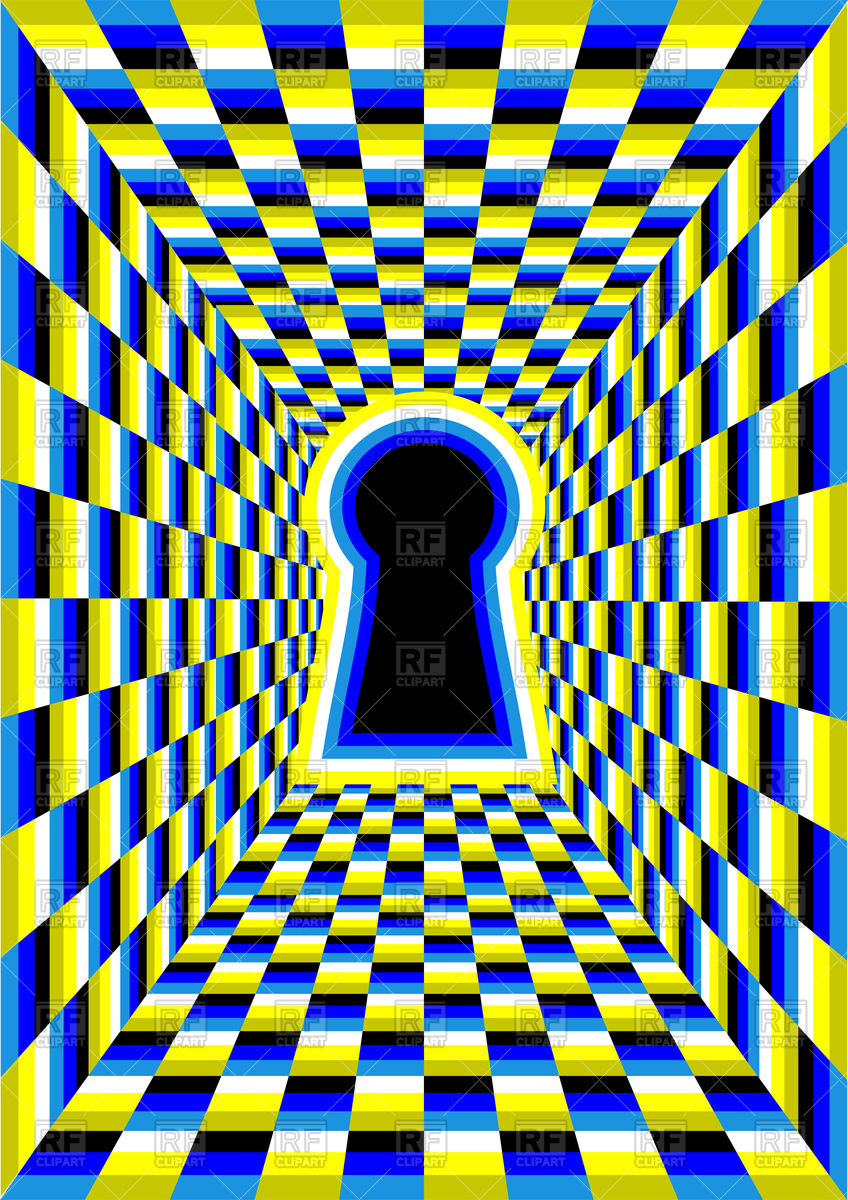 Illusion clipart #7
