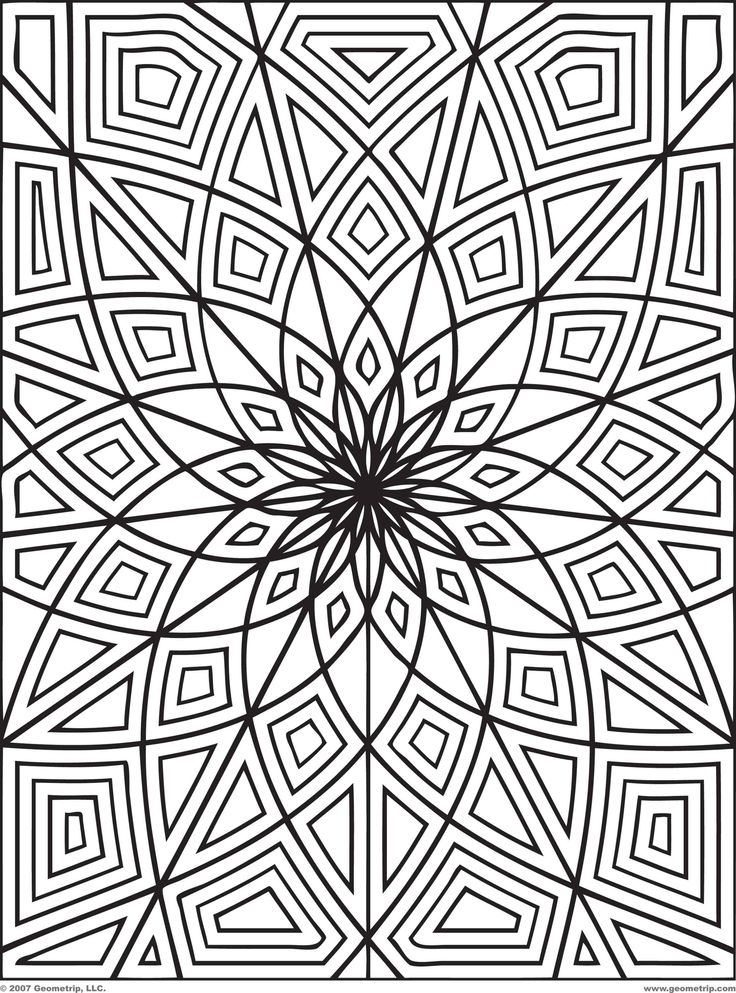 Illusion coloring #6, Download drawings
