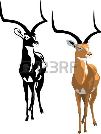Impala clipart #3, Download drawings