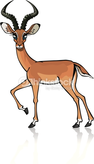 Impala clipart #1, Download drawings