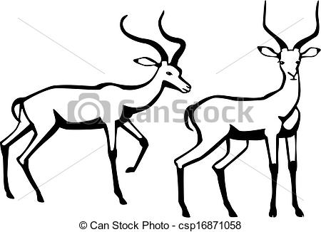 Impala clipart #15, Download drawings
