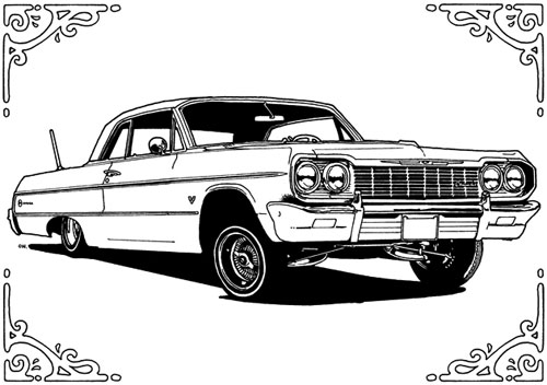Impala coloring #3, Download drawings