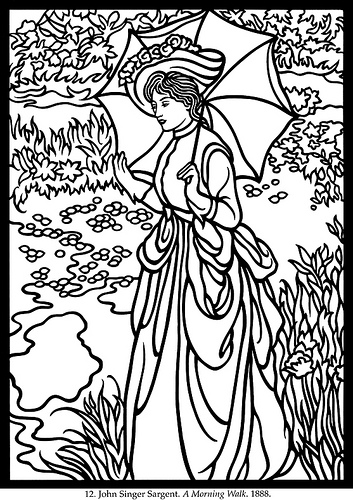 Download Impressionist coloring for free - Designlooter ...