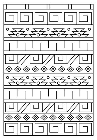Inca coloring #6, Download drawings
