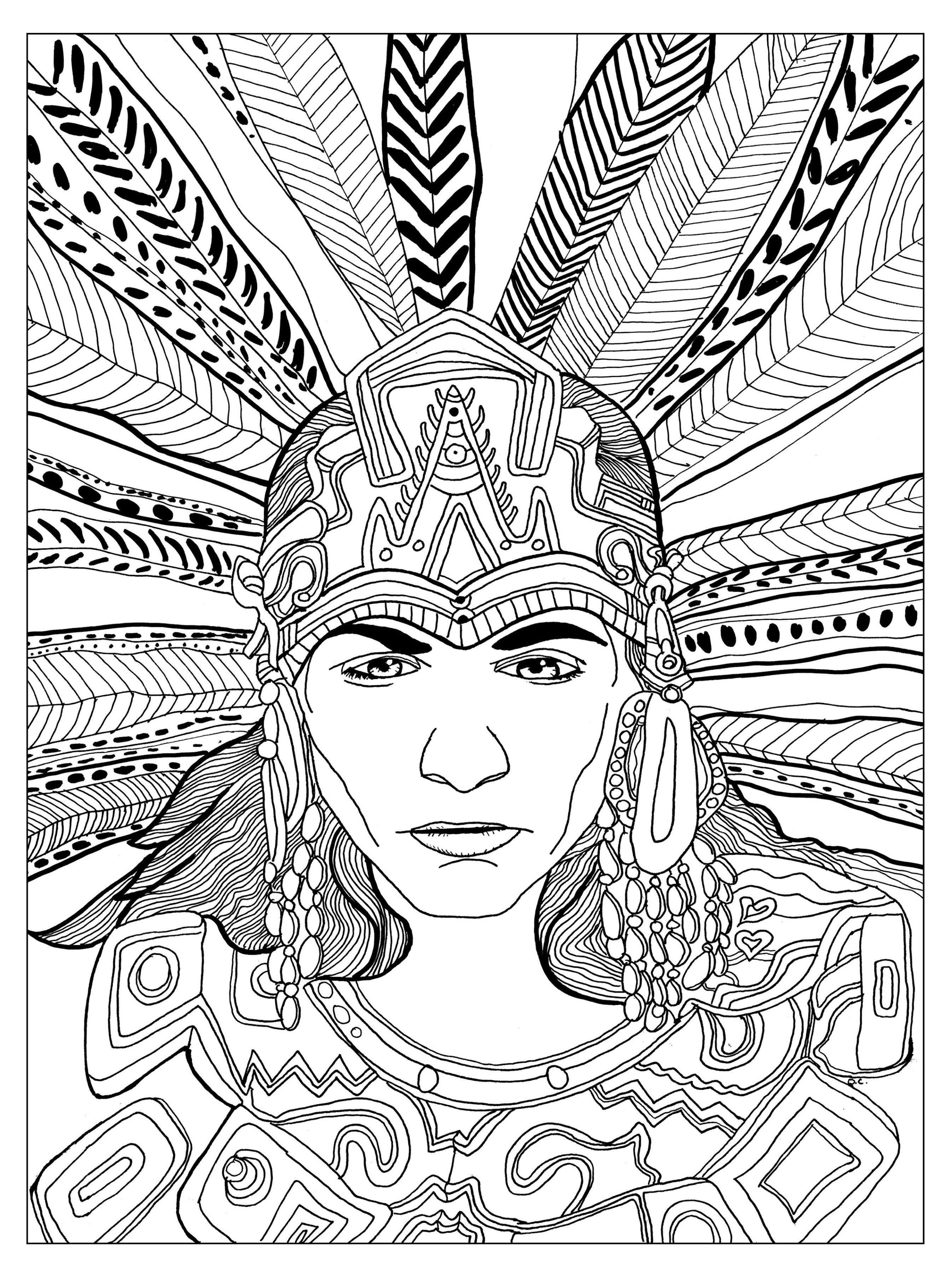 Mesoamerica coloring #10, Download drawings