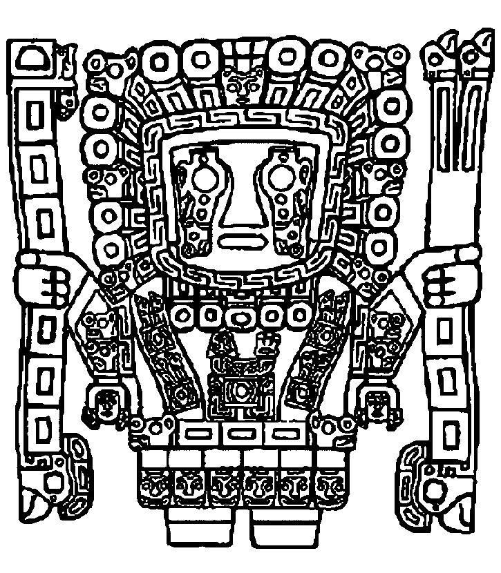 Inca coloring #18, Download drawings