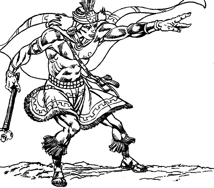 free inca coloring pages - photo#13