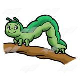 Inchworm clipart #2, Download drawings