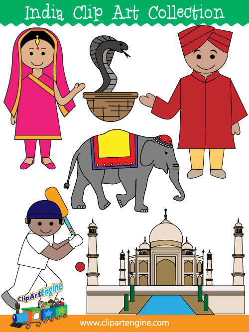 India clipart #12, Download drawings