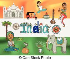 India clipart #11