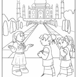 India coloring #14, Download drawings
