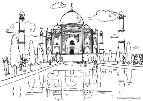 India coloring #10, Download drawings