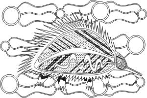 Indigenous Art coloring #15, Download drawings