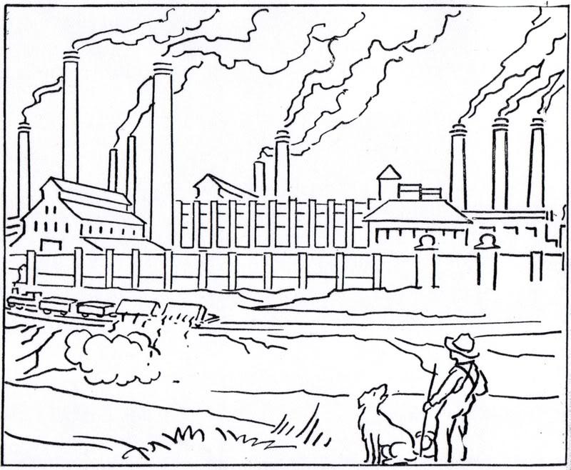 Industrial coloring #2, Download drawings