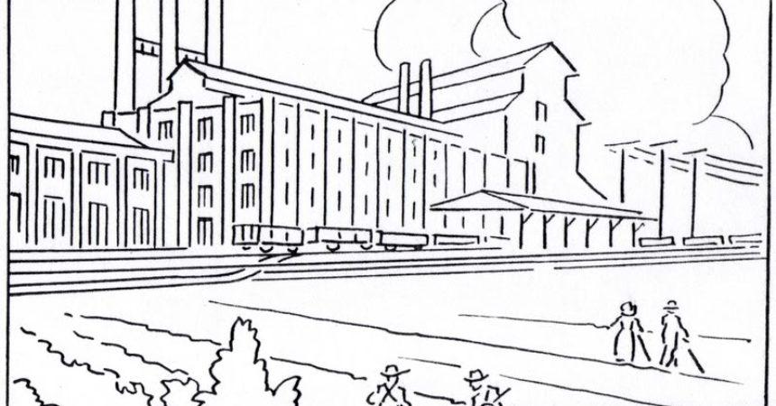 Industrial coloring #15, Download drawings