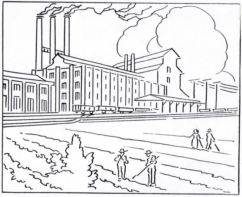 Industrial coloring #8, Download drawings