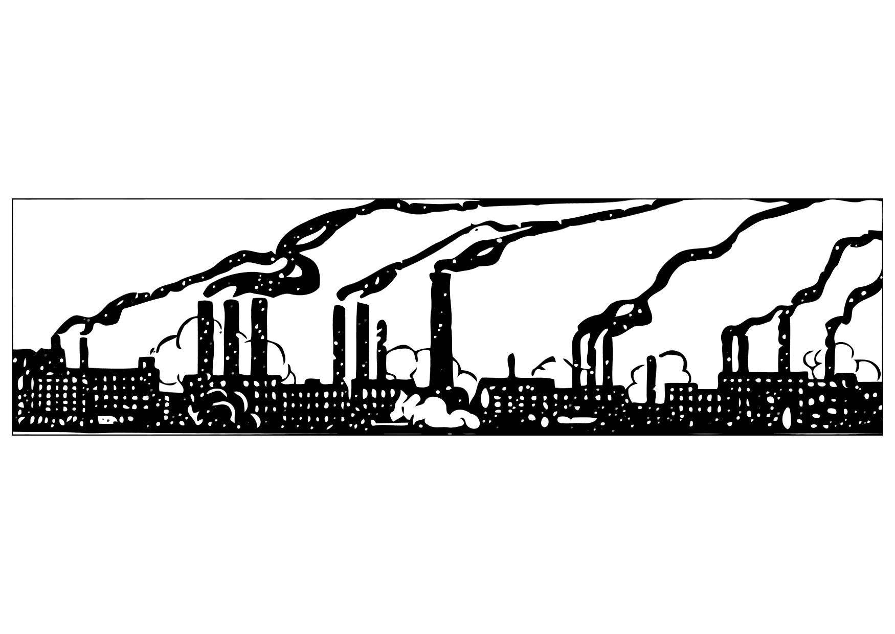 Industrial coloring #20, Download drawings