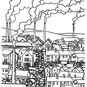 Industrial coloring #4, Download drawings