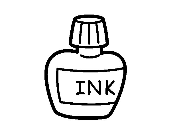 Ink coloring #10, Download drawings