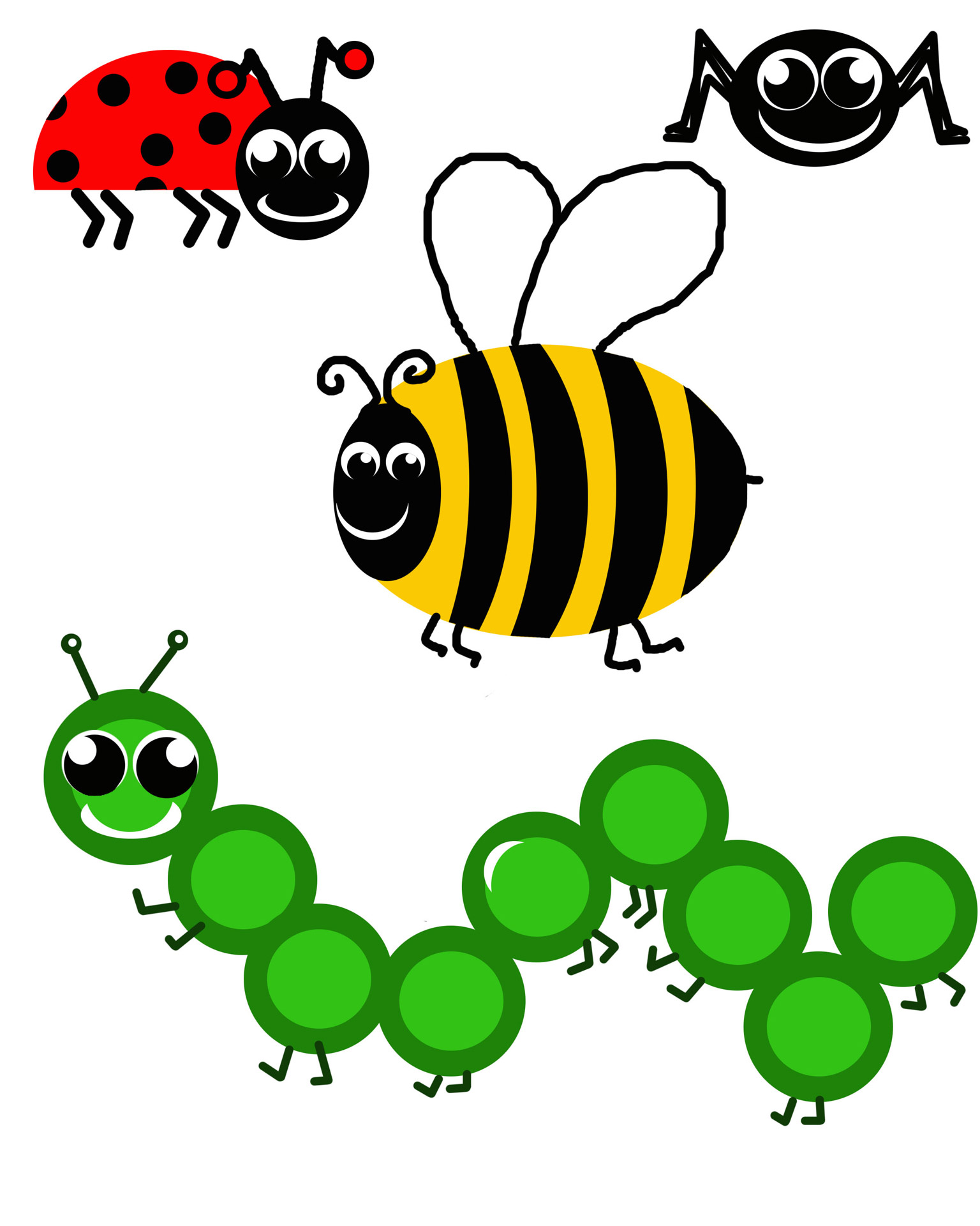Bug clipart #2, Download drawings