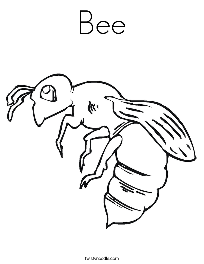 Insect coloring #5, Download drawings