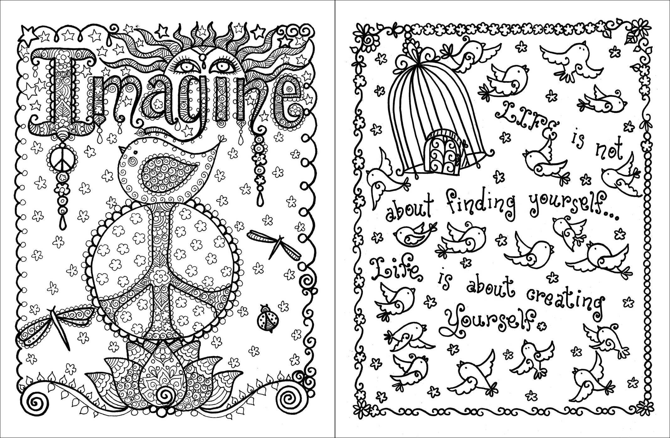 Inspiring coloring #2, Download drawings