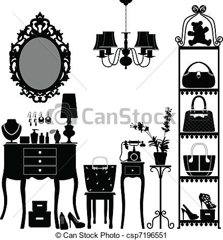 Interior clipart #1, Download drawings