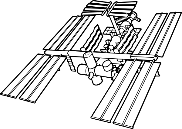 International Space Station clipart #18, Download drawings