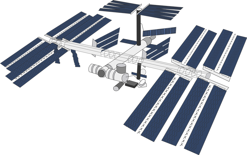 International Space Station clipart #17, Download drawings