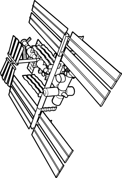 International Space Station clipart #15, Download drawings