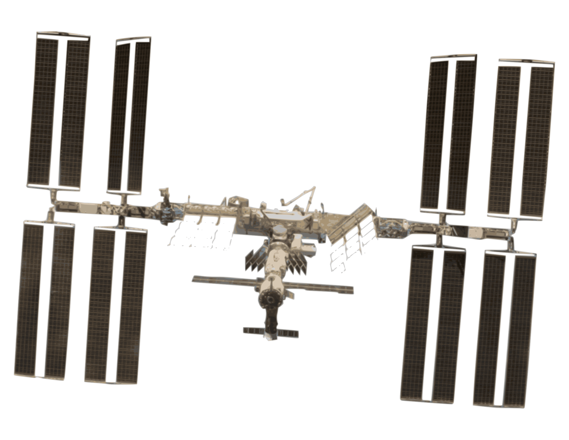 International Space Station clipart #4, Download drawings