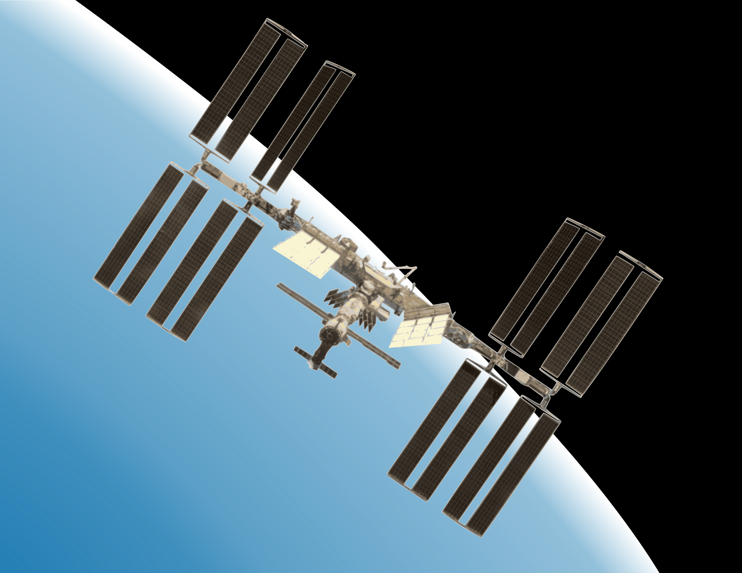 International Space Station clipart #5, Download drawings