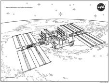 NASA coloring #19, Download drawings