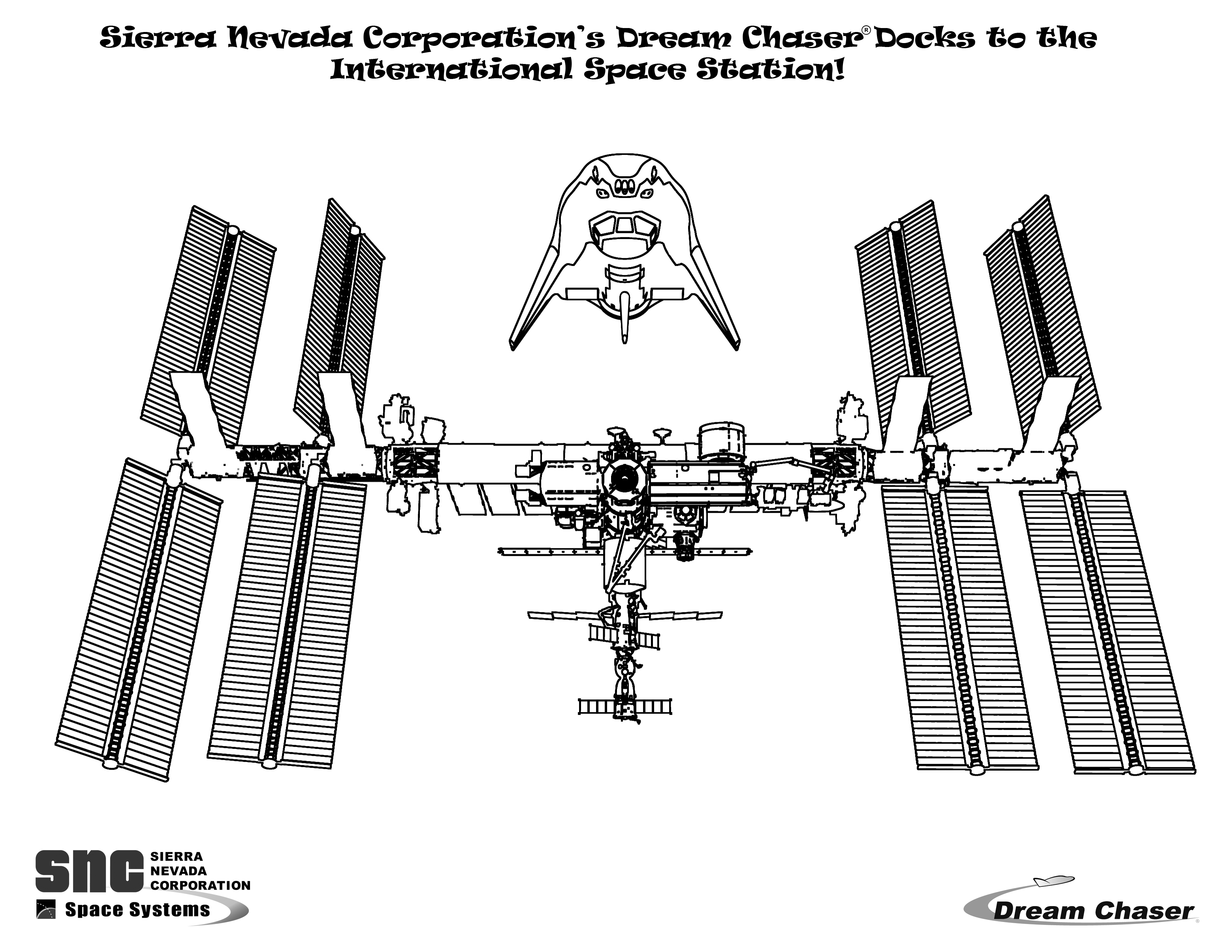 coloring pages international space station - photo#20