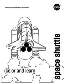 NASA coloring #11, Download drawings