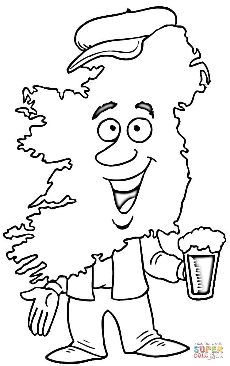 Ireland coloring #1, Download drawings