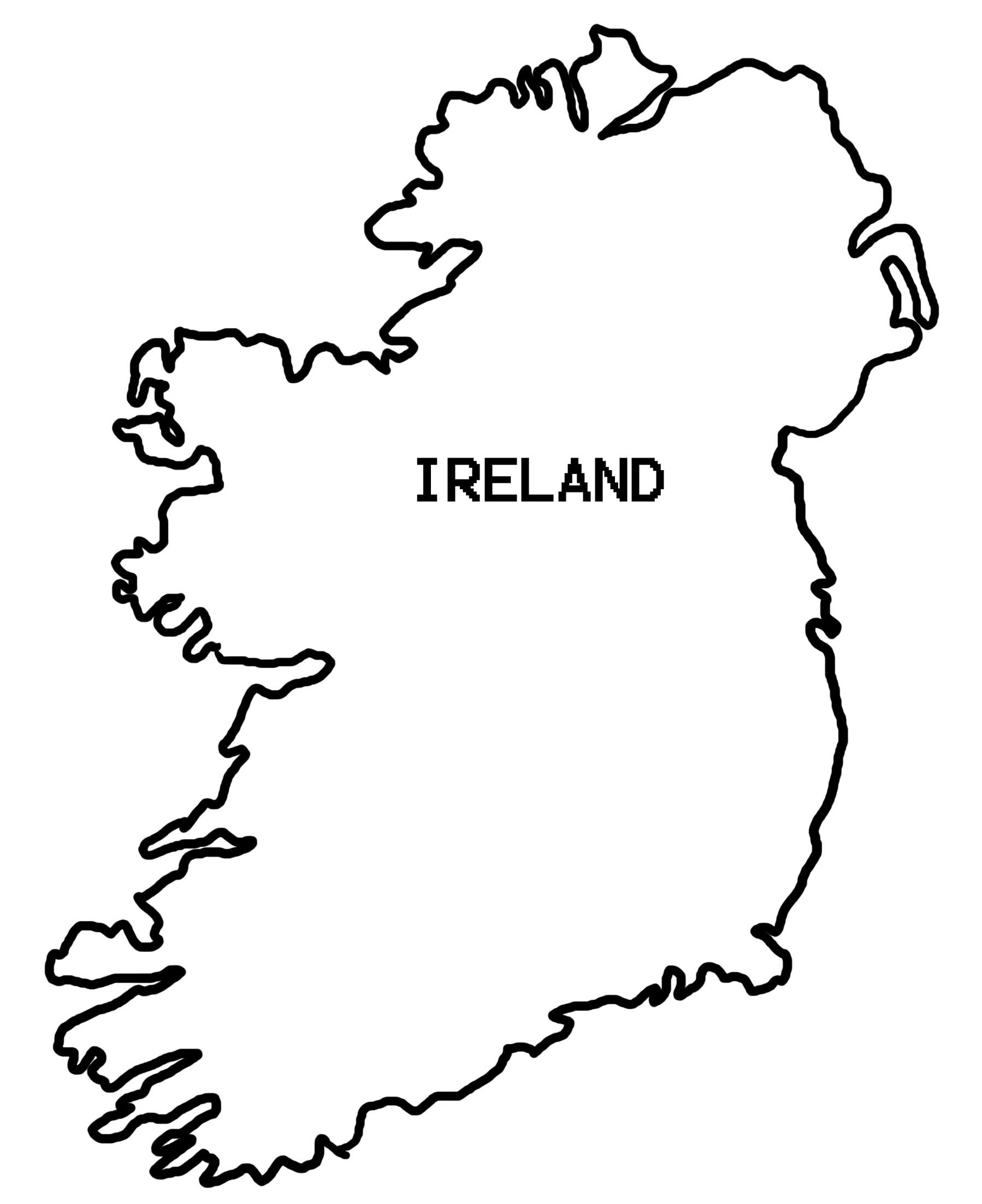 Ireland coloring #4, Download drawings