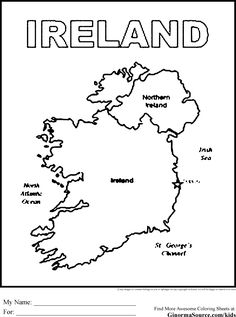 Ireland coloring #16, Download drawings