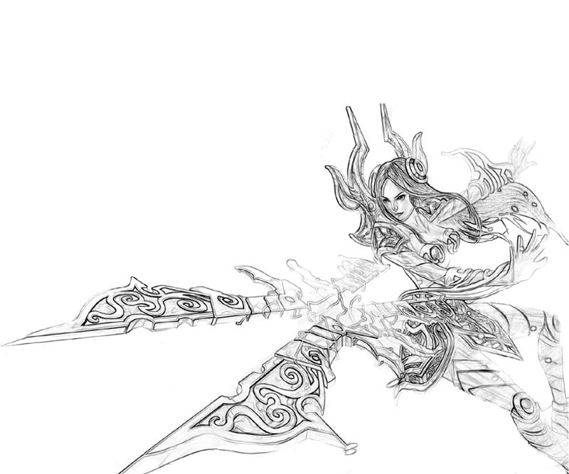 LeBlanc (League Of Legends) coloring #15, Download drawings