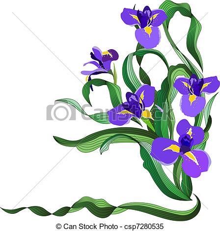 Iris clipart #10, Download drawings