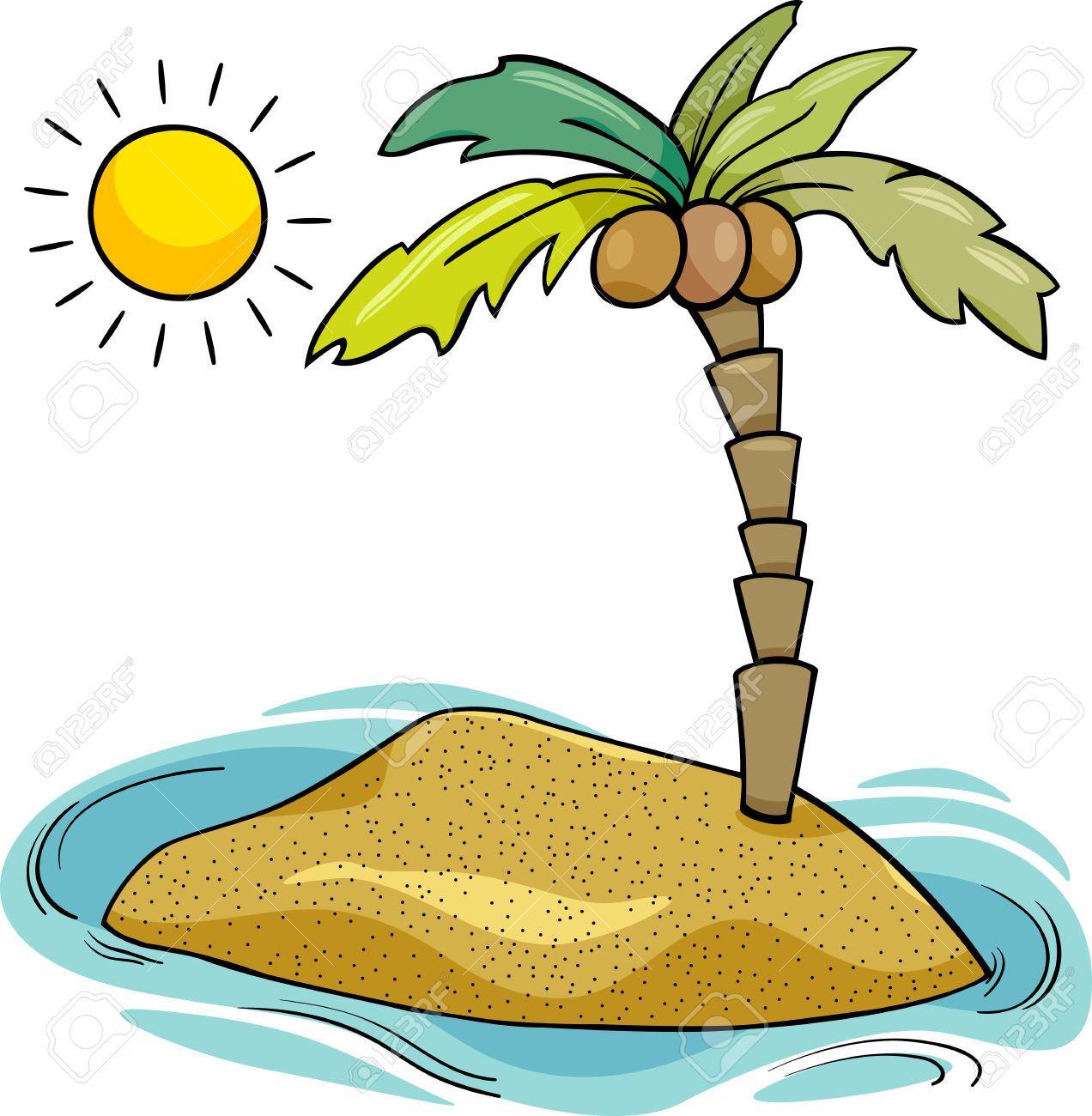 Island clipart #16, Download drawings