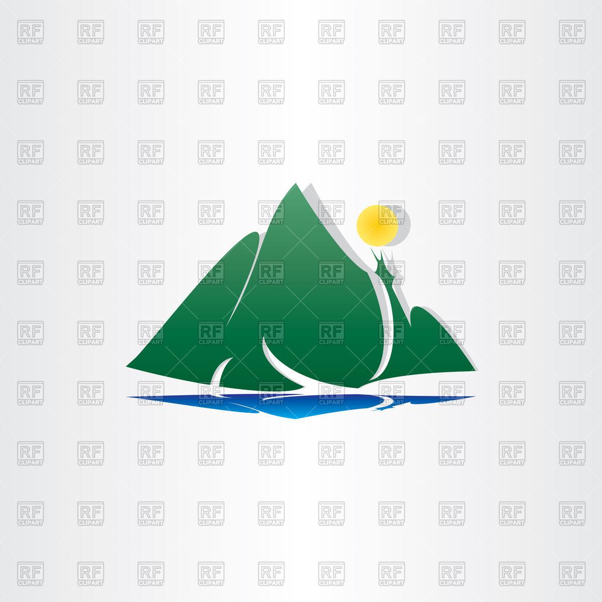 Island Lake clipart #1, Download drawings