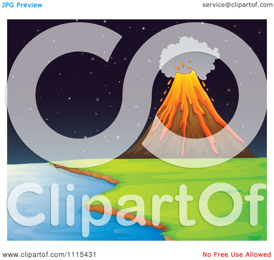 Island Volcano Eruption clipart #5, Download drawings