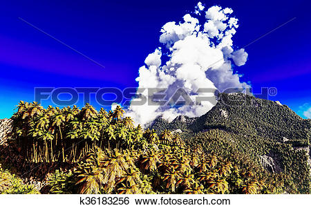 Island Volcano Eruption clipart #1, Download drawings