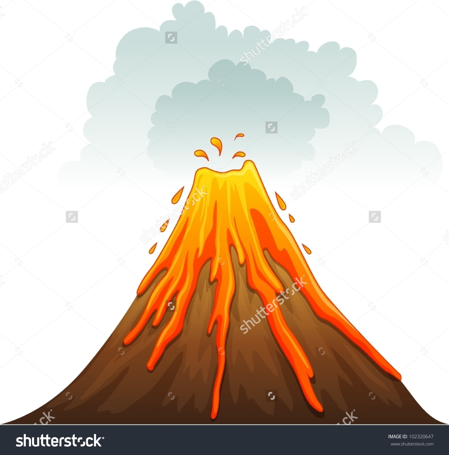 Island Volcano Eruption clipart #13, Download drawings