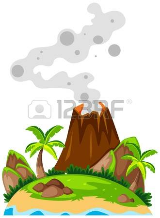Island Volcano Eruption clipart #12, Download drawings