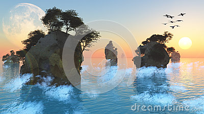 Islets clipart #5, Download drawings