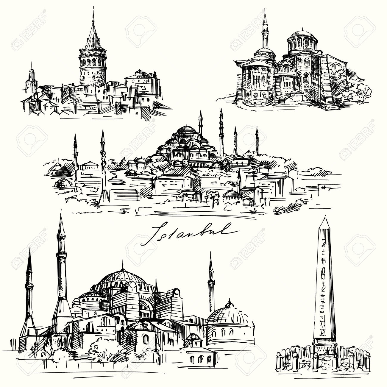 Istanbul clipart #18, Download drawings